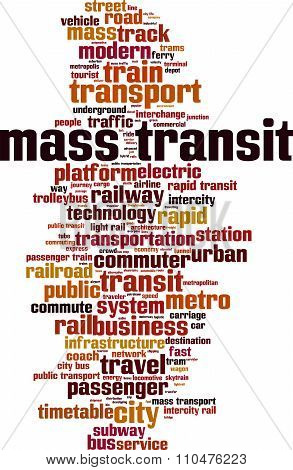Mass Transit Word Cloud
