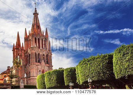 Parroquia Jardin Archangel Church San Miguel Mexico