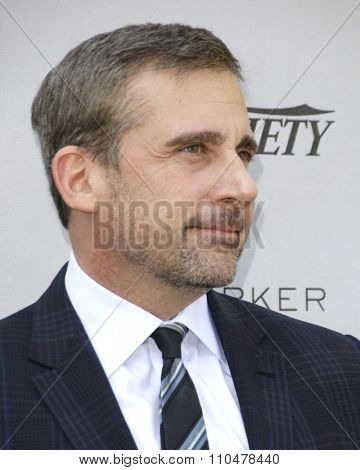 LOS ANGELES - JAN 4:  Steve Carell at the Variety's Creative Impact Awards and '10 Directors To Watch' Brunch at the Park Palm Springs on January 4, 2015in Palm Springs, CA