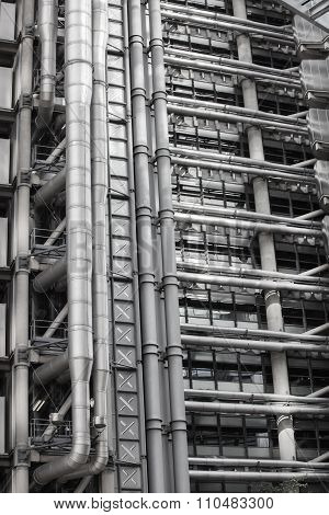 Texture of Lloyd's building