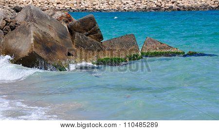 Square Ecology Blocks: Ocean Breakwater