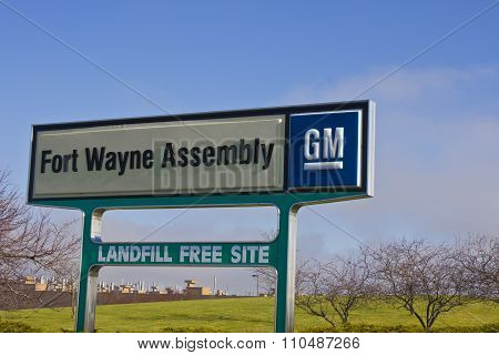 Ft. Wayne - Circa December 2015: GM Fort Wayne Assembly Plant.