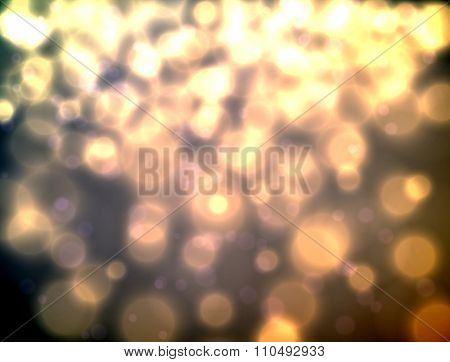 Bokeh blurred background
