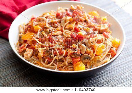 Chicken Tomato Pasta