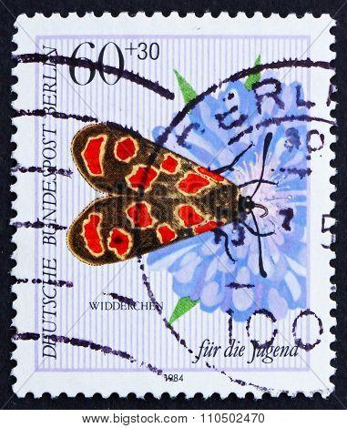 Postage Stamp Germany 1984 Butterfly, Agrumenia Carniolioa