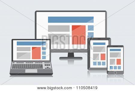 Flat screens set