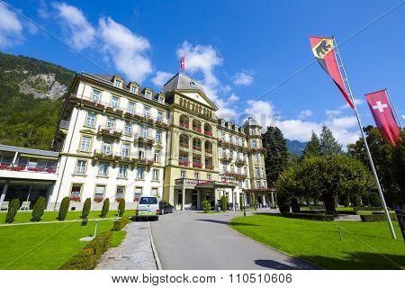 Interlaken, Lindner Grand Hotel Beau Rivage