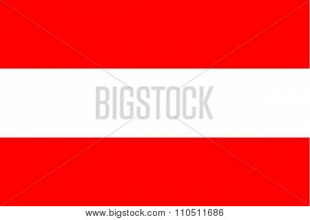 Standard Proportions For Austria Flag