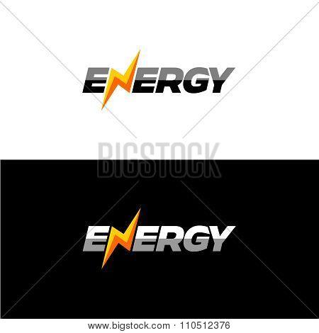 Energy Text Logo
