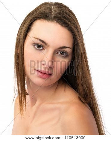 Pretty Brunette Woman