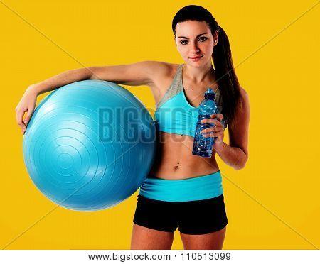 Fitness Female Relaxing