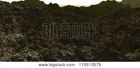 Rocky valley - spring