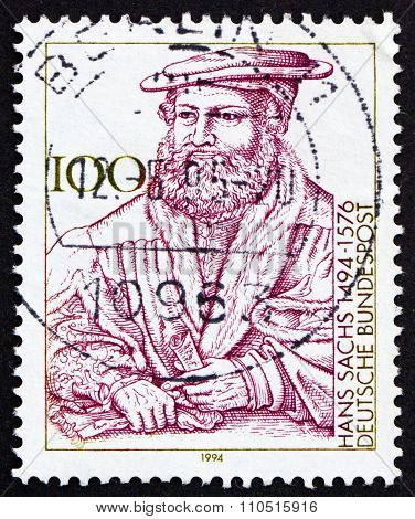 Postage Stamp Germany 1994 Hans Sachs, Composer And Conductor