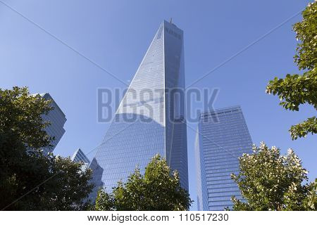new york city, NY, USA, 11 september 2015: One World Trade Center In New York City