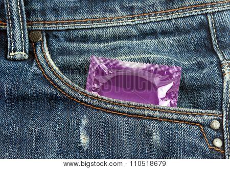 Violet Condom