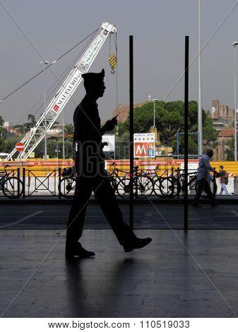 Italian Carabinieri Policeman