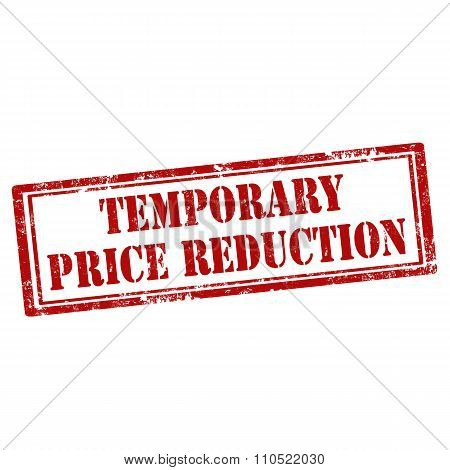 Temporary Price Reduction