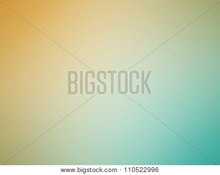 Orange Blue Gradient Blurred Background