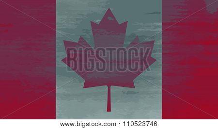 Shabby Flag of Canada