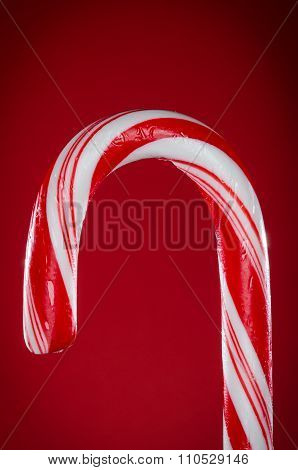 Red candy cane hook