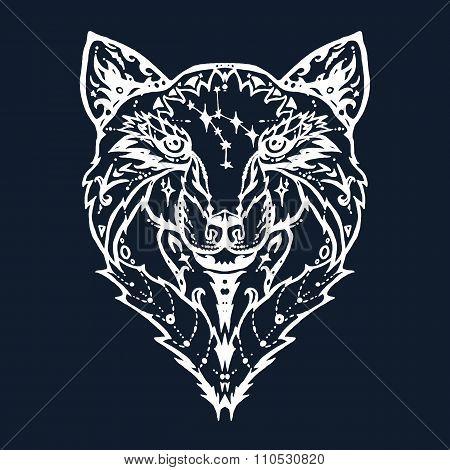 Wild Wolf Tattoo