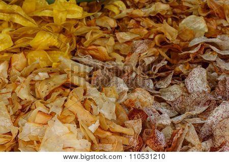 Banana, Yuca, Potato And Malanga Chips, Typical Nicaraguan Taste