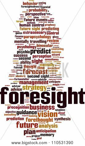 Foresight Word Cloud