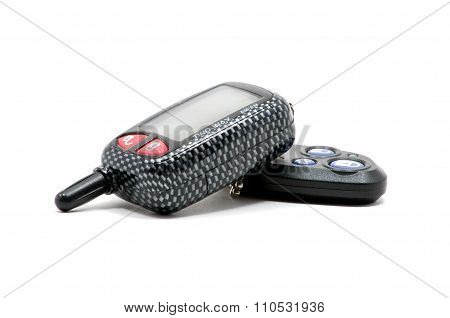 Isolated Car Key