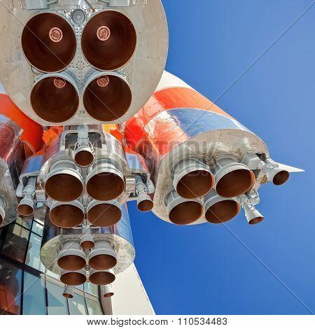 Details Of Space Rocket Engine