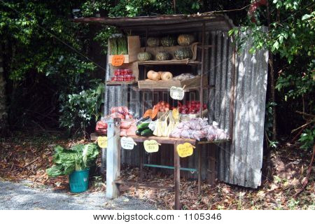 Roadside Fruit And Vege Stand 2