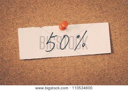 50 Fifty Percent