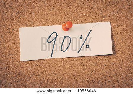 90 Ninety Percent