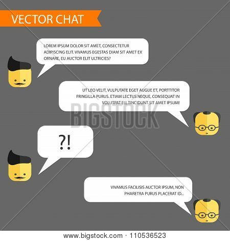 Vector Chat Template