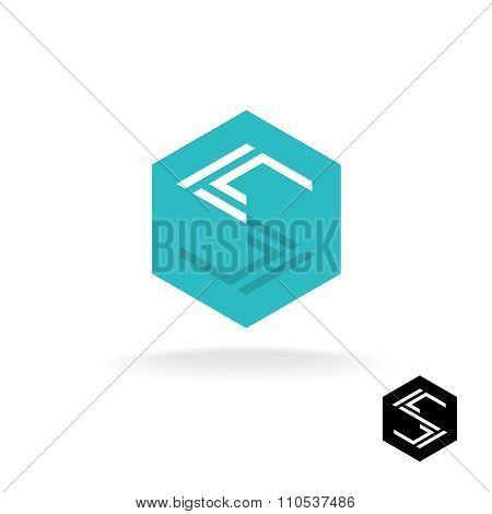 Letter S Tech Logo