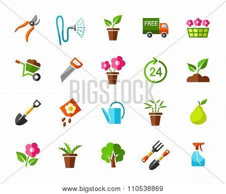 Garden, Vegetable Garden, Ico...