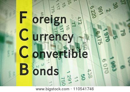 Foreign currency convertible bonds.