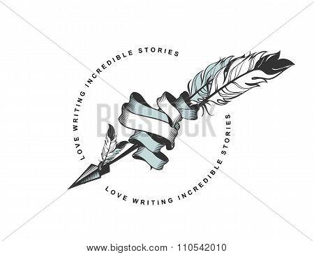Arrow With Feather Emblem