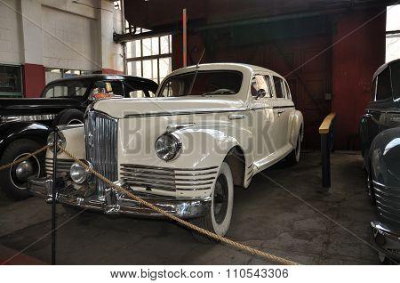 MOSCOW, RUSSIA - NOVEMBER 9, 2013: Soviet Car Zis 110