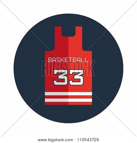 Basketball Shirt Design Template