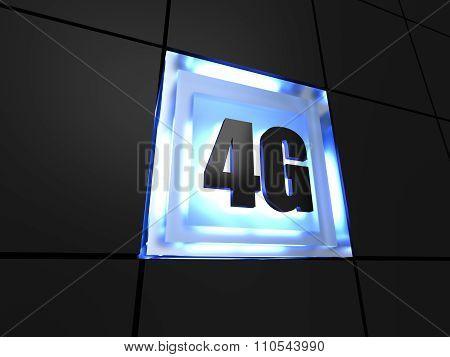 4G - fourth generation telecommunications technology