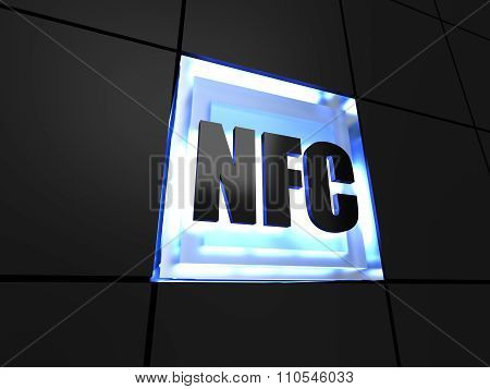 NFC technology sign