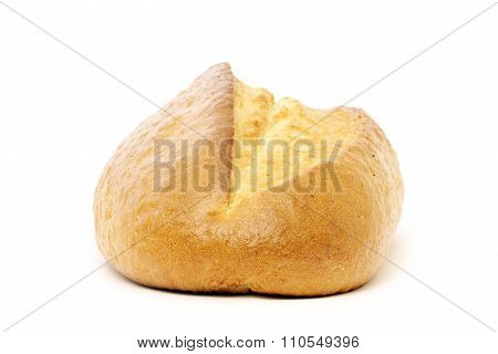 Bun isolated on white