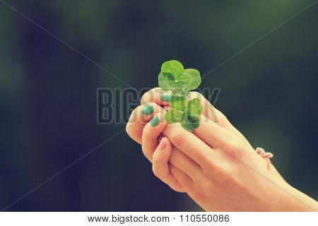Four-leaf clover.