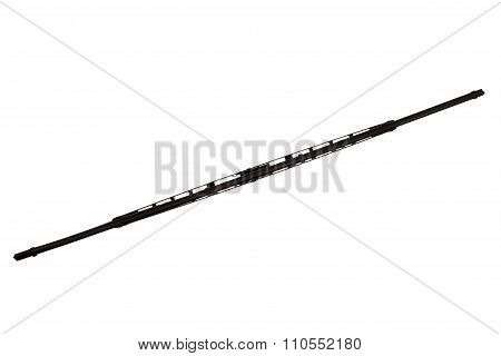 Windscreen Wipers On A White Background