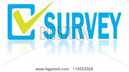 Business Concept, Vector Of Survey Text