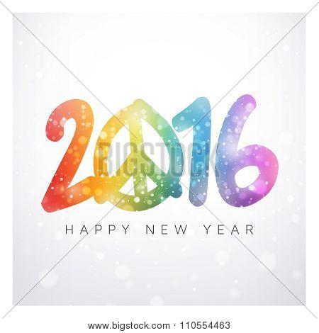 2016 Peaceful Greeting Card