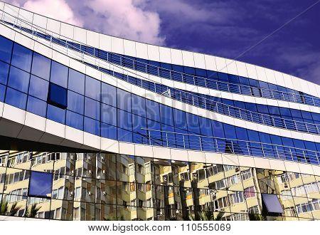 Modern High-tech Style  Building