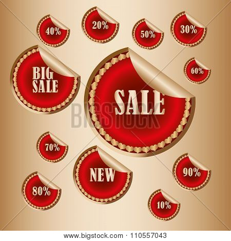 Sticker Sale Tags