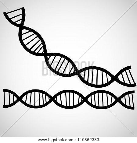 Icon DNA thema background