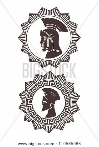 Icon Roman Soldier, Award Type Of A Star